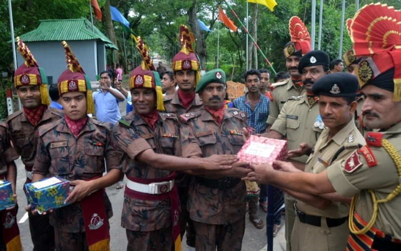 Border Security Force (BSF) And Border Guards Bangladesh (BGB) Exchanged Eid Greetings