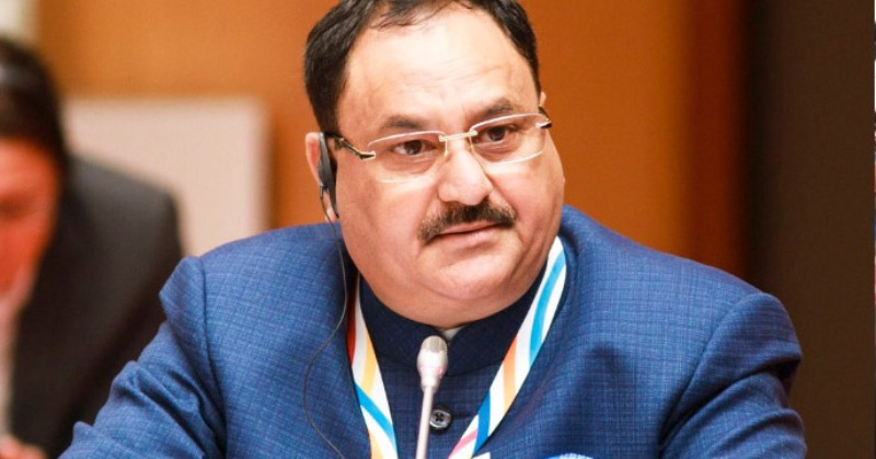 Nadda Discusses Poll Strategy with Telangana Leaders