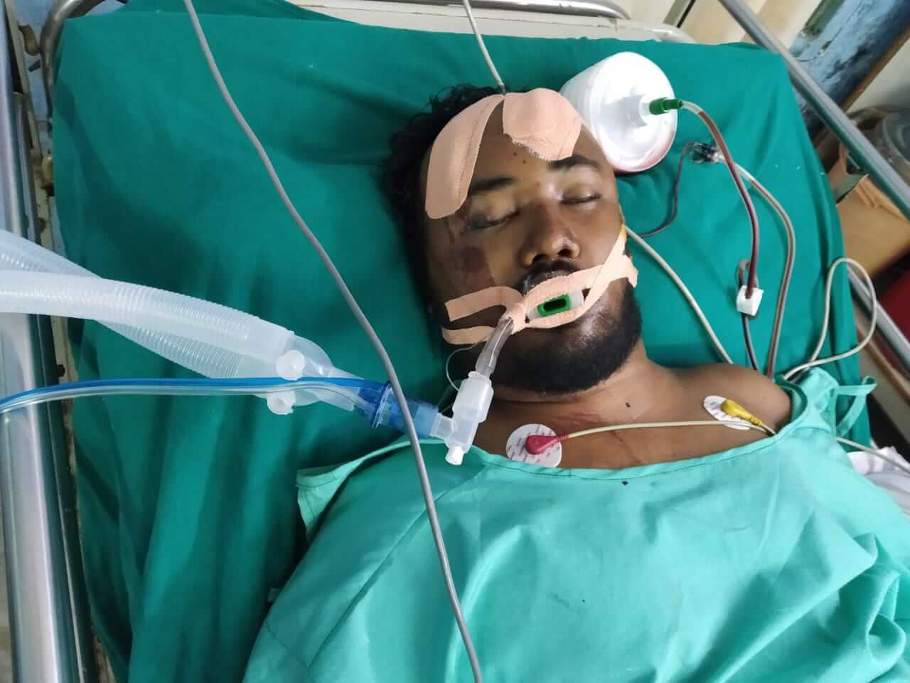 Meritorious student of Lakhimpur injured in road mishap fighting for life, mother seeks financial help