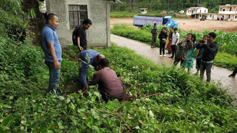 NEHU Organized An Environmental Awareness Programme At Umsaw Village