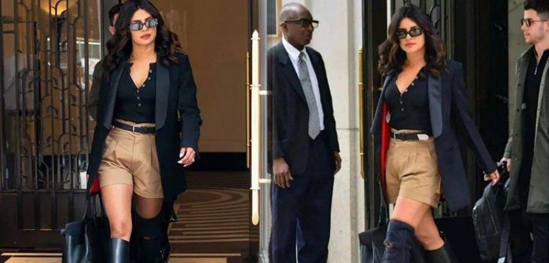 Priyanka Chopra's Khaki Shorts Lead To Troll Trouble