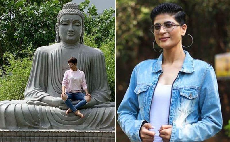 Tahira Kashyap Apologises For Sitting On Buddha Statue