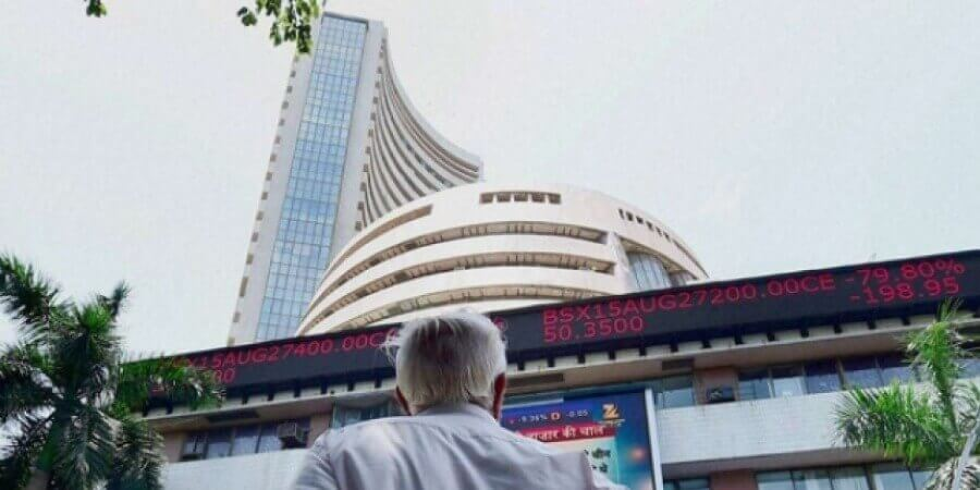 Sensex, Nifty end lower; steel companies fall over growth worries