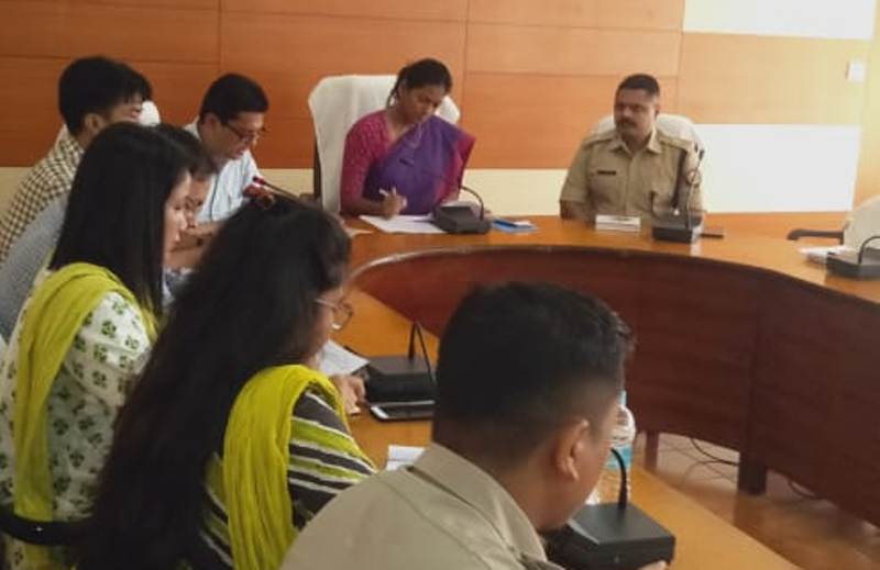 District Disaster Management Authority Meeting Discusses Flood Preparedness In Hailakandi