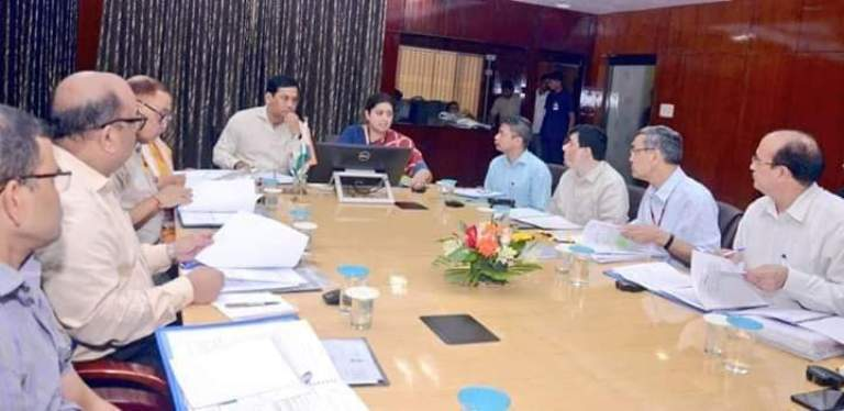Smriti Zubin Irani chairs meeting with CM Sonowal in Guwahati, Reviewed progress on 'POSHAN Abhiyan'