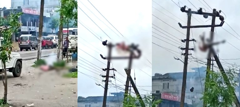 ASEB Lineman dies of electrocution in Biswanath Chariali, Head ripped off
