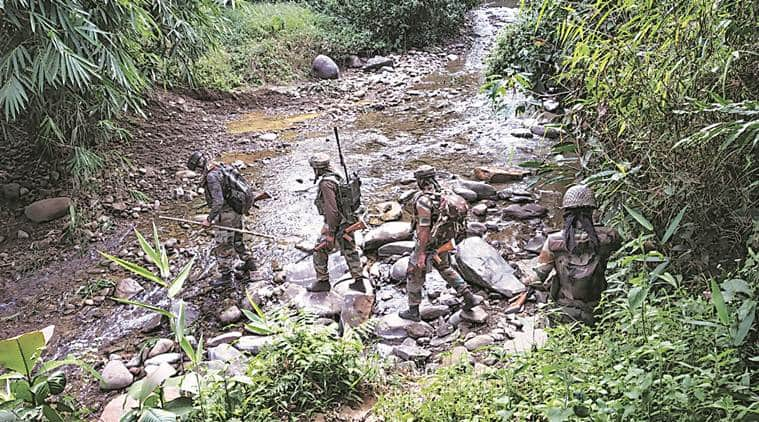 Search operations in Tirap & Changlang jungles by Indian army and Assam Rifles to flush out insurgents