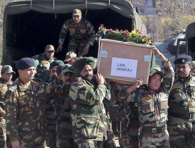 'India Handed Over Body of Pakistan Soldier Killed In kargil'