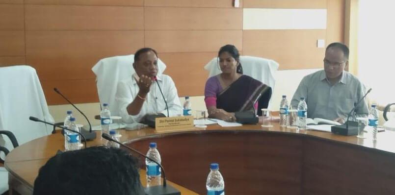 Forest Minister Parimal Suklabaidya Reviews Schemes, Projects In Hailakandi