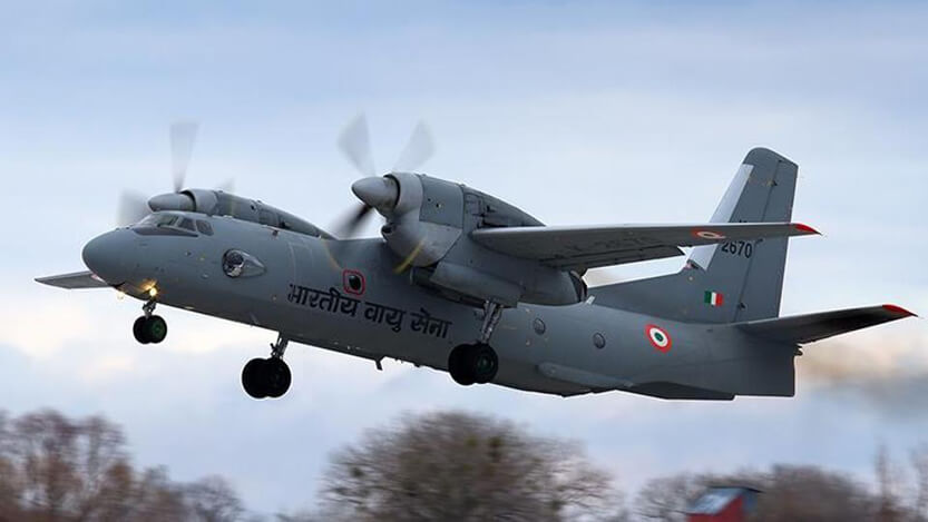 Indian Air Force aircraft with 13 on board missing in Arunachal