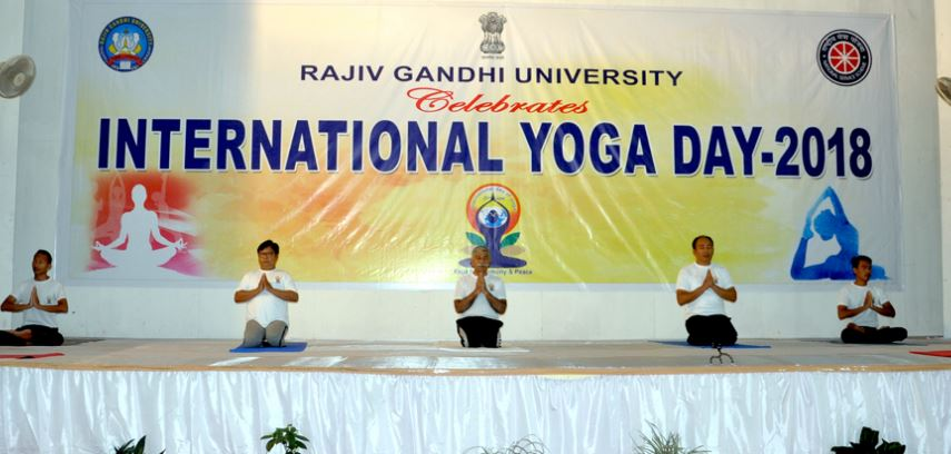 Arunachal Governor Dr BD Mishra Appeals To People To Adopt Yoga