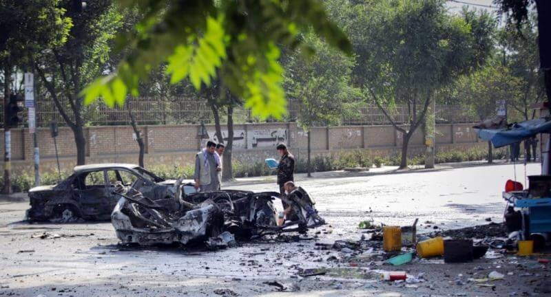 At least 6 killed, 27 injured in a blast near Kabul University