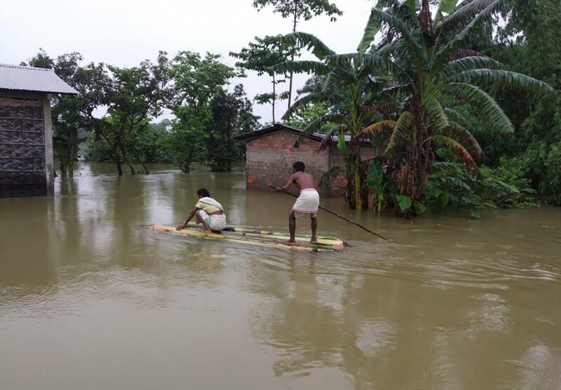 NEEPCO releases excess water from Ranganadi dam, flood situation worsens in Lakhimpur