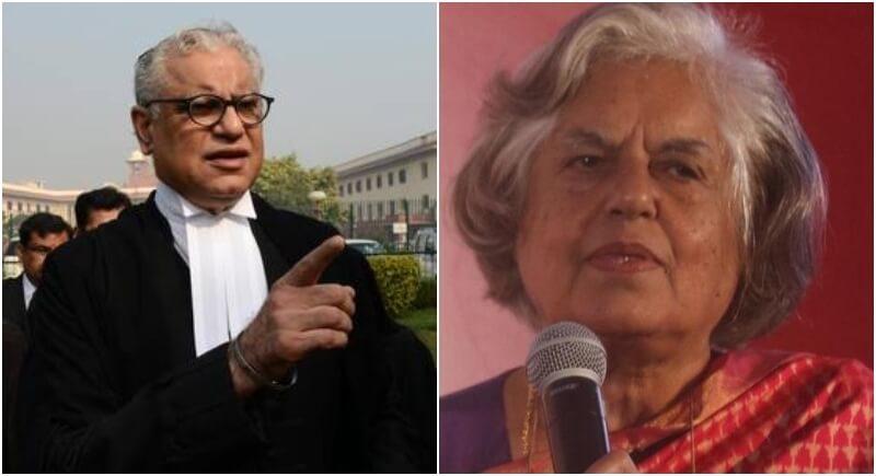 CBI Raids Indira Jaising, Anand Grover In Foreign Funding Case