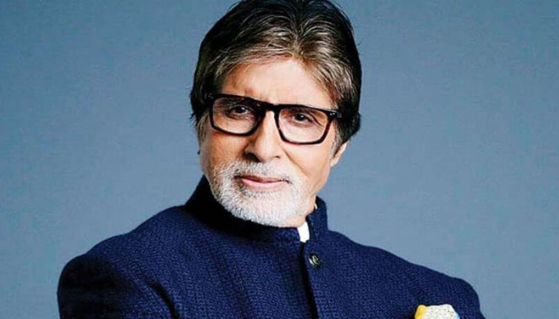 Amitabh Bachchan gets stamped with voter ink to spread awareness about coronavirus
