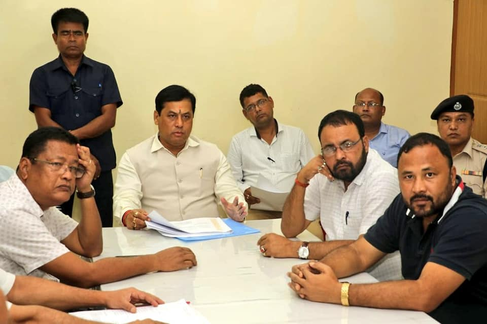 Crack Down on Drugs, CM Sarbananda Sonowal Tells Police
