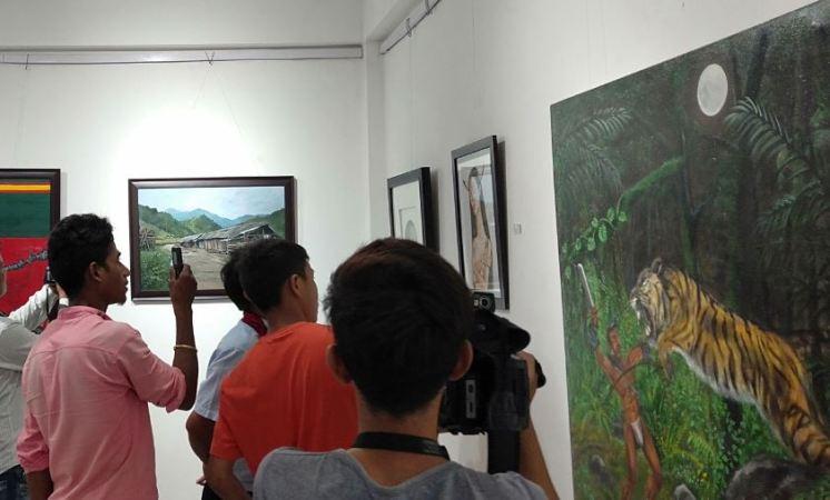 Art Exhibition Showcasing Arunachal Pradesh Culture Gets Underway