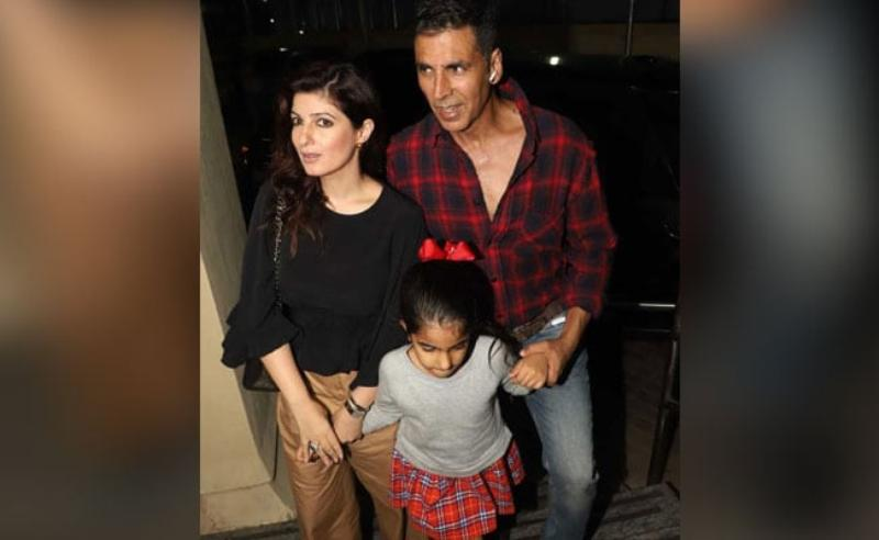 We Sailed Back Home Tweets Twinkle Khanna As She Was Spotted With Akshay Kumar Amid Heavy Mumbai Rains