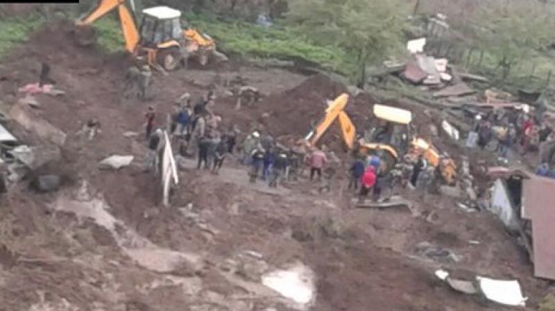 Continuous Downpour Creates Havoc In Arunachal Pradesh