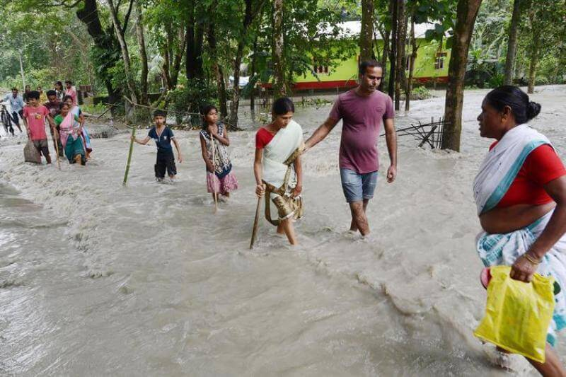66,000 people affected in Biswanath district due to unchanged flood situations