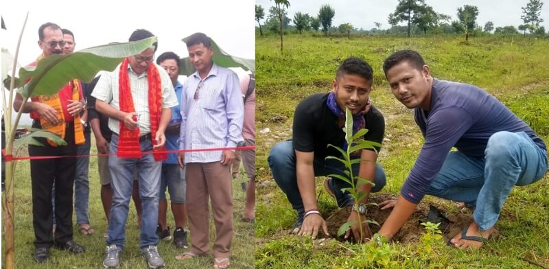 Joint Forest Management Committee attempts transforming 60 hectares land into green jungle