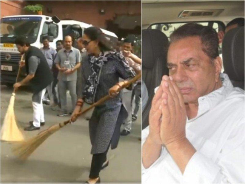 Dharmendra Apologizes For Trolling Hema Malini