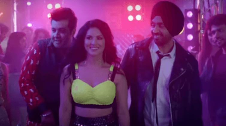 Sunny Leone Dancing With Diljit Dosanjh Is All Set To Break The Hearts In Arjun Patiala Song Crazy Habibi Vs Decent Munda