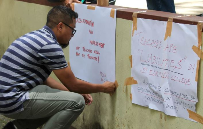 MeghalayaSt Edmund's College Teachers Resort to Indefinite Strike