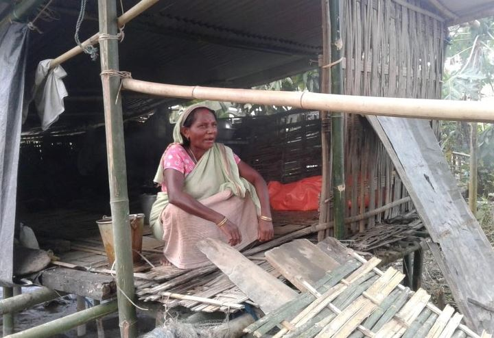 Assam Floods: People Suffer Post-Flood Miseries in Lakhimpur District
