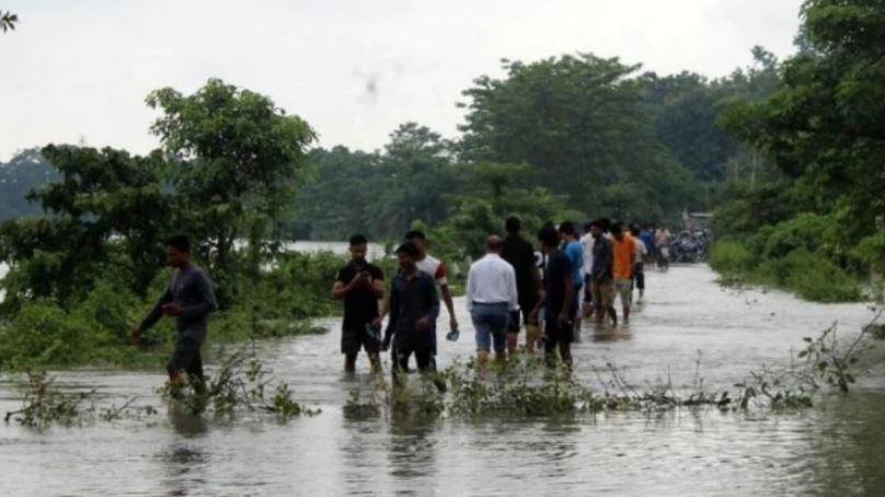Floods Affect 15,000 in Tripura & Mizoram; Rail Traffic Hit