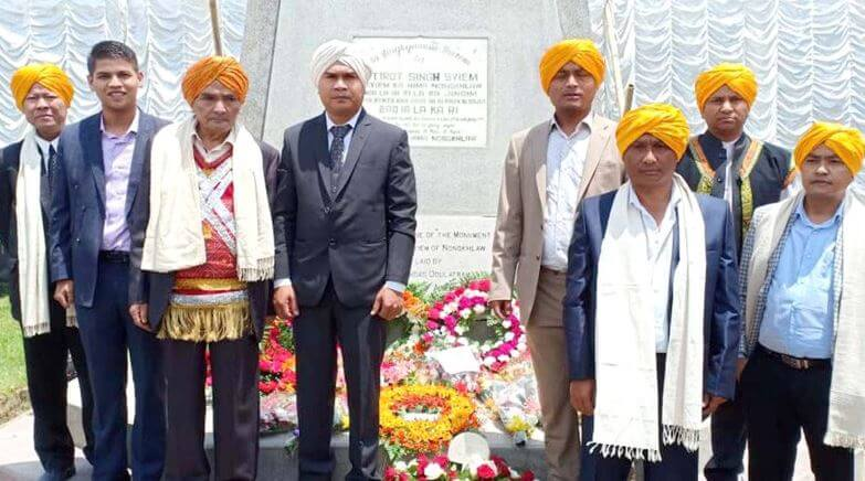 Khasi Student's Union Remembers Freedom Fighter U Tirot Sing Syiem