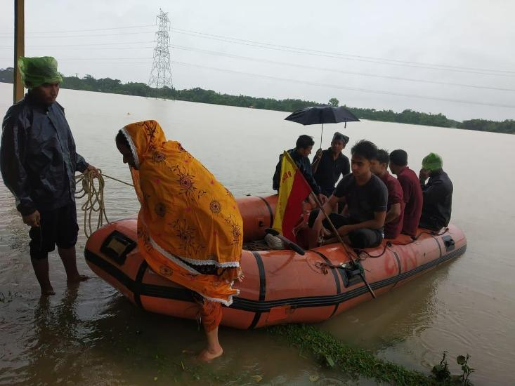 Flood Situation Remains Grim in Hailakandi