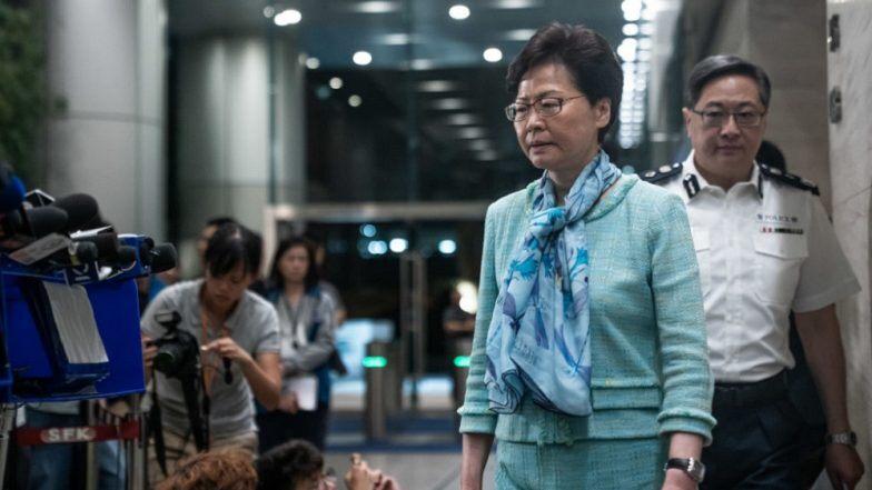 Hong Kong Leader Slams 'Thugs' Who Attacked Police During Clashes