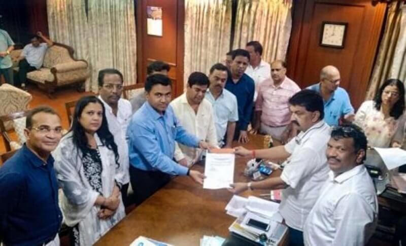 10 Goa Congress MLAs Merge With Bharatiya Janata Party (BJP)