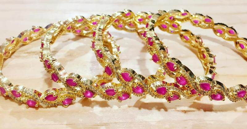 5 Gold Jewelry Bangles Design You Can Choose From
