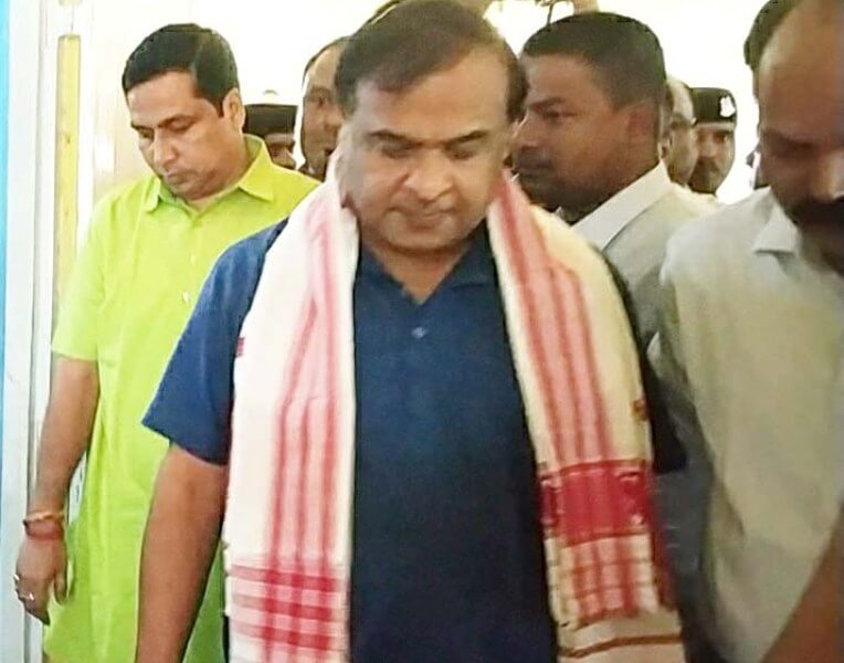Dr Himanta Biswa Sarma