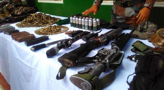 NSCN (IM) cadre apprehended in Manipur, Huge cache of Arms & Ammunition seized