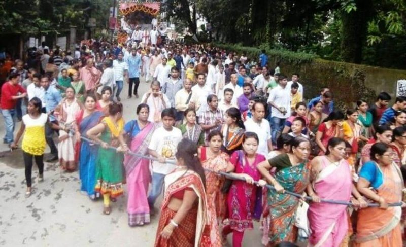 Rath Yatra Celebrated With fervour In Silchar