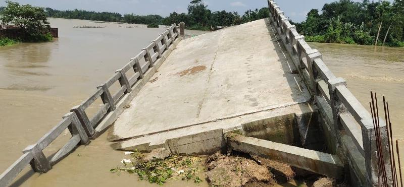 River Noa overflows, several villages affected in Kalaigaon