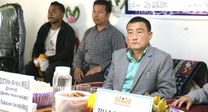 MLA Sangay Lepcha Says Yuksam GPU Will Strive To Abolish Trade License Subletting