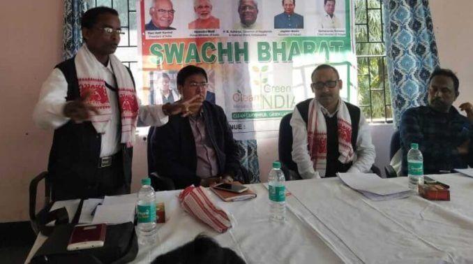 Lakhimpur Swachh Bharat Mission Ambassador Ranjit Kakati stresses on 'Positive thoughts
