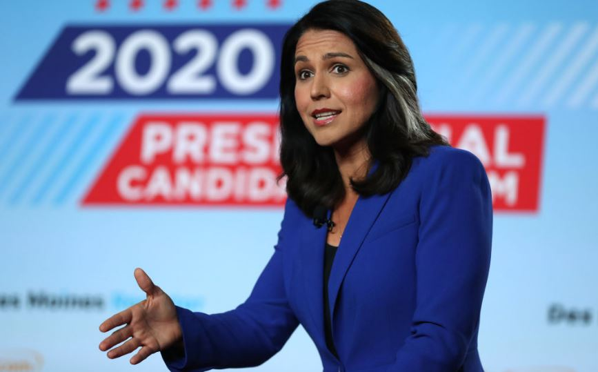 US Presidential Candidate Tulsi Gabbard Sues Google for $50 Million