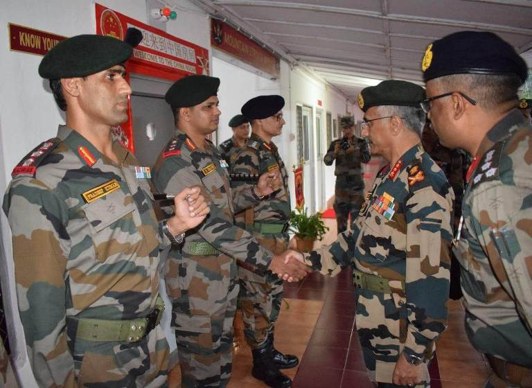 Vice Chief of Army Staff visits Army's Gajraj Corps in Arunachal Pradesh