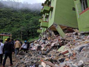 Three buildings collapsed due to Landslide in Mizoram, 3 dead, 11 injured
