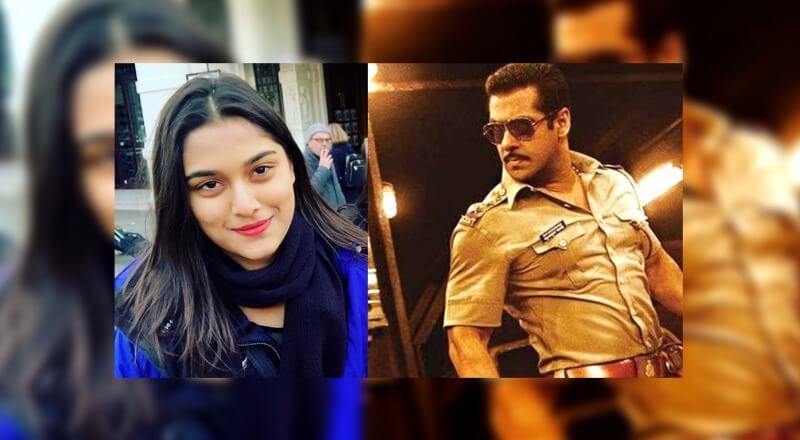 Dabbang 3: Mahesh Manjrekars Daughter Saiee To Be Cast Opposite Salman Khan