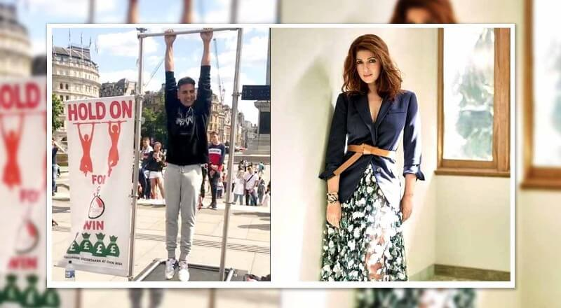 Twinkle Khanna Takes A Dig On Husband Akshay Kumar, Says He Is Always Ready To Make Money