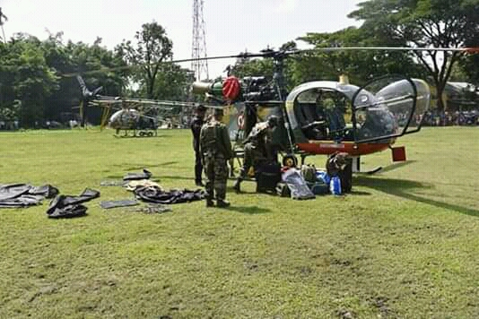 Indian Army's chopper