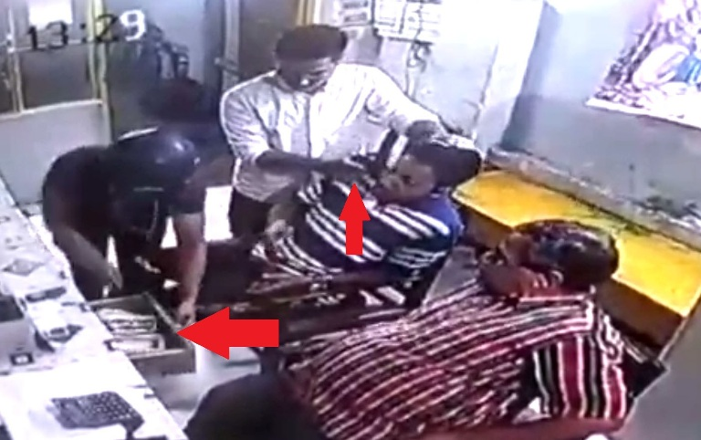 Watch CCTV Footage | Sensational Robbery in Tinsukia, Dacoits loot cash at Gunpoint