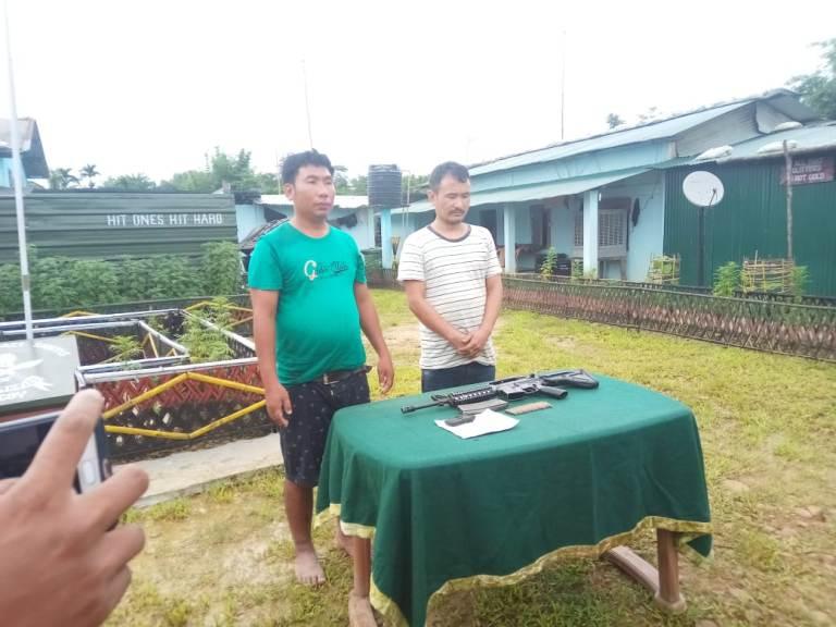 Two Hardcore NSCN (K) rebels held near Assam Border at Zeliangrong