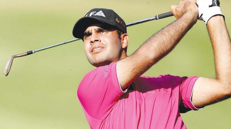 Golfer Shubhankar Sharma Makes It Count On Day 3
